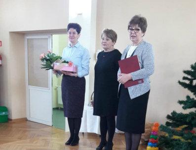 Pani Bożena Kulińska kończy swoją pracę zawodową